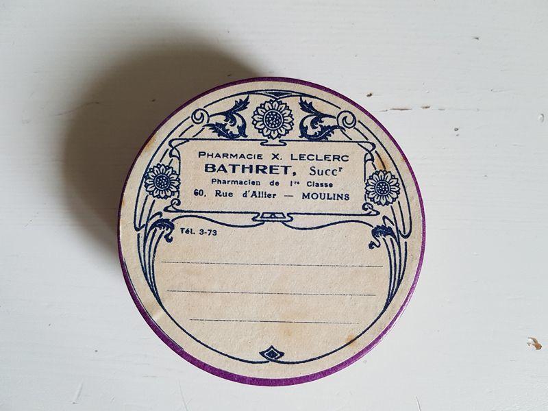 画像1: フランスアンティーク ファーマシーボックス (1)