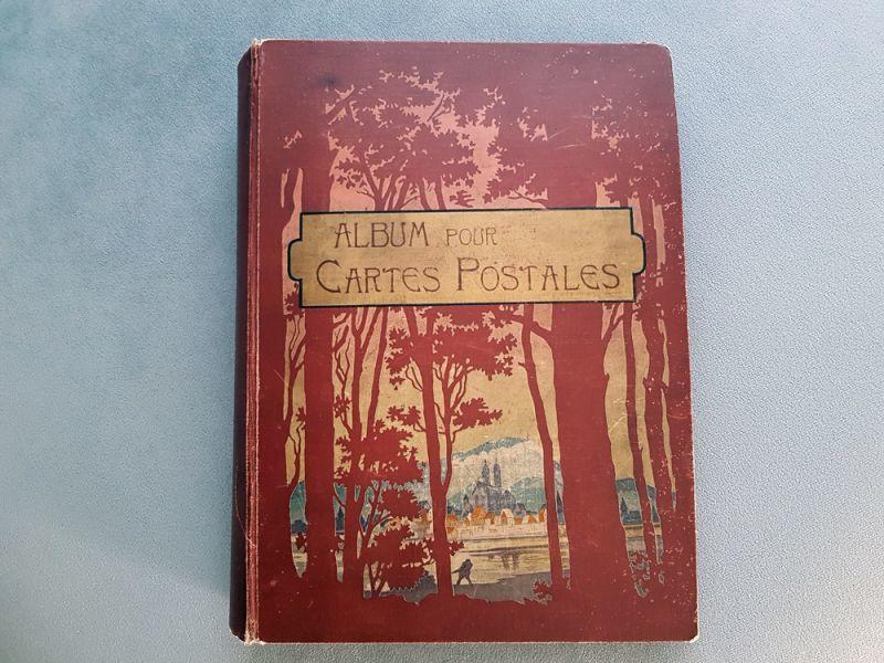 画像1: フランスアンティーク 1902年  ポストカードアルバム (1)
