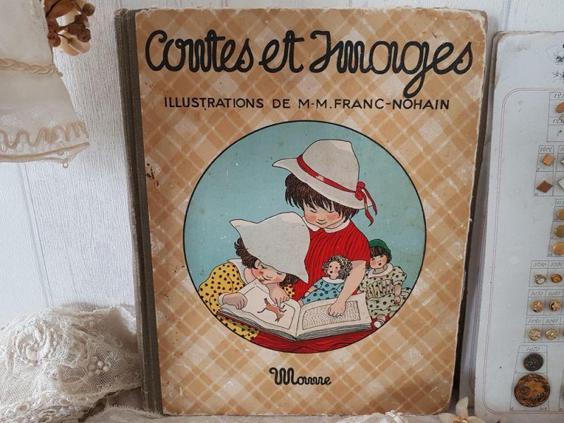 画像1: フランスアンティーク 1935年 MAME社の絵本 Contes et Images (1)
