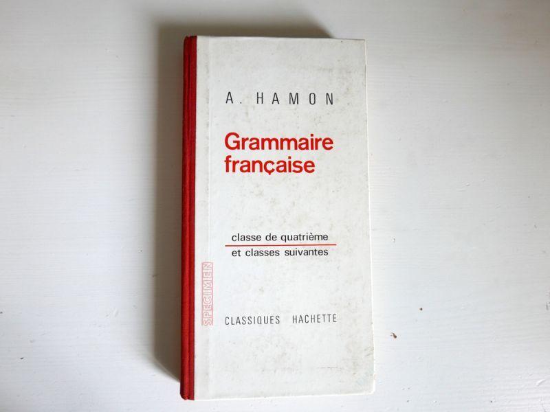 画像1: フランスヴィンテージ 1966年 HACHETTE社 Grammaire française classe de 4em (1)